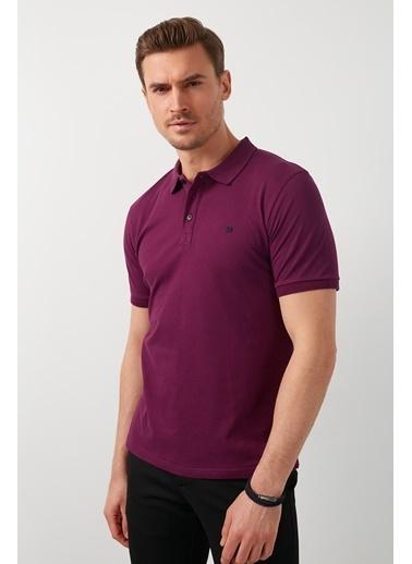 Buratti Buratti Polo Yaka Erkek T-Shirt 0438101 Mor